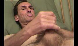 Mature Amateur Randy Jerking Off