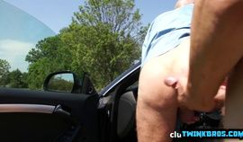 Big dick twink anal sex and cumshot video