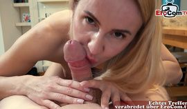german blonde milf hooker pov with small tits