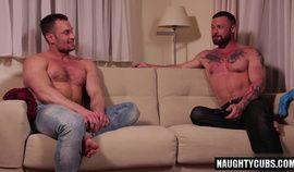 Russian gay flip flop and cumshot homo porn