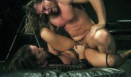 Evan Stone enjoys fucking a sexy brunette pornstar slut