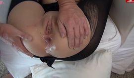 Eva Lopezzz tied up, sodomized and creampied