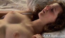 Beautiful girl masturbating for real