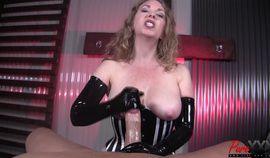 Mistress T interrogates your cock HD video
