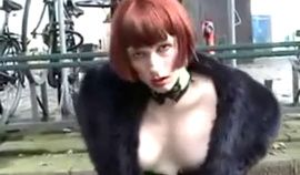 Shemale tara walks half naked in holland