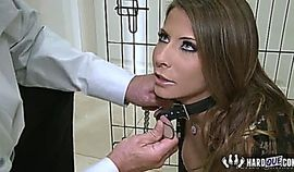 Madison Ivy Fetish Show tied and taking a huge cock