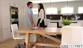 LoveHerFeet - Marley Brinx Has Her Toes Sucked And Her Tight Pussy Fucked