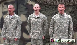 ARMY amateur horny GROUP FUCKING in the lockers