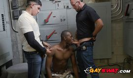 Criminal begs Gay officers to handle him the easy way