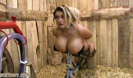 Katie Thornton - milking bench