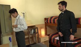 Daddy Priest Barebacks Young Dimitri