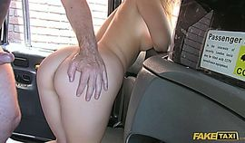 Hot blonde Canadian passenger loves English cock in the ass