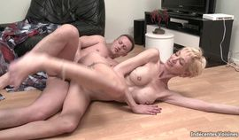 Tall French MILF DP