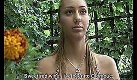 Blonde Czech Girl JANA wants to be a famous model
