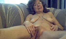 Amateur Granny Being A Tease