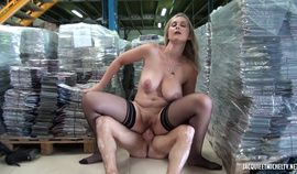 French MILF Back storage hardcore fucking