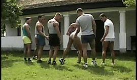 Sexy hot big muscle gathering