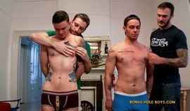 Gay frat hazing with kipp slinger and christian wilde