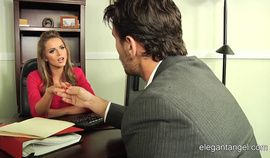 Tori Black has sex in the office