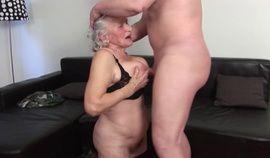 Horny ugly slut Granny Norma fucked hard