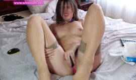 Amazing filthy Stocking girl cums