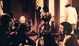 Shemale and Lesbian in the BDSM Orgy