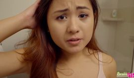 Asian Cutie Elle Voneva Gets Filled up with A Creampie