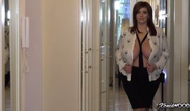 Xenia Wood showing off her beautiful tits