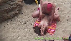 beach voyeur, mature couples have sex 3
