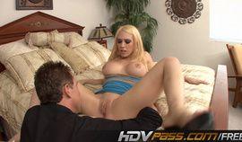 Blonde Teen Hot Bobs and Big White Ass Kagney Linn Karter Fuck nd Cumshot
