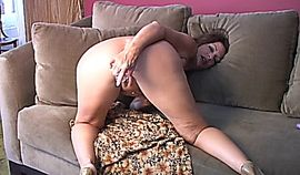MILF Masturbate on Sofa
