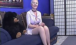 Mature Dalny Marga gets DP by two black cocks