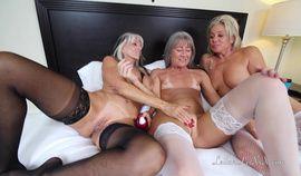 Gilf Sally Seduces the Maid Service for Threesome