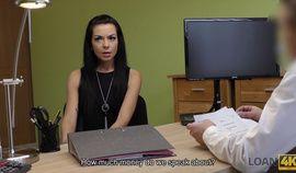 LOAN4K Slender brunette Inga Devil needs money and is ready for everything