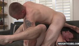 Horny Big dick gay flip flop with cumshot