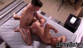 Sexy Ripley Grey and big dick Jay Ice banging hard and raw