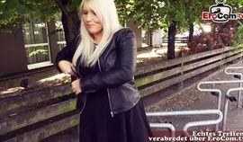 German chubby housewife public pick up outdoor fuck EroCom Date