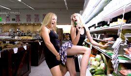 CamSoda Teen lesbians Sloan Harper and Jessie Saint