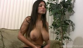 Pushing dildos into pussy is her favorite activity