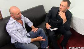 Casey Williams gets guidance of eager fuckhole Kirk Cummings