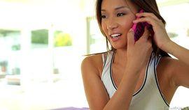 Alina Li and Adriana Chechik - Naked Yoga