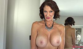 hot mature woman with big tits Vanessa Videl solo