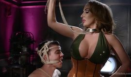 Dangerous Curves Ahead:Trustfund Kid is Dominated by Fierce Curvy Babe