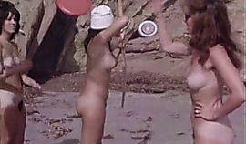 Natural Nudist Girls at a Wild Beach