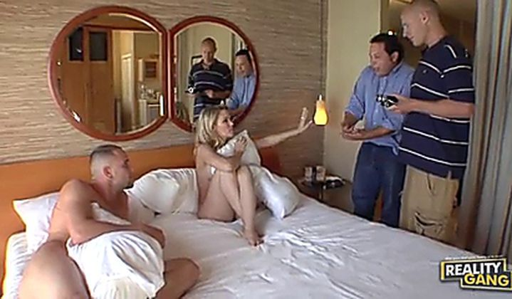 Real Cheating Wife Gangbang