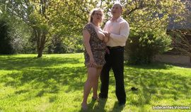 French BBW Julia et Tony hot ufck at home