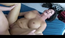 Horny stepmother interested in stepson cock