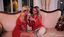 A Girl Knows - Czech dykes Karol Lilien and Victoria Puppy in hot pussy fucking