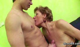Grandma Caught Grand Son Watching Porn