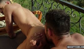 Latin gay ass to mouth with cumshot